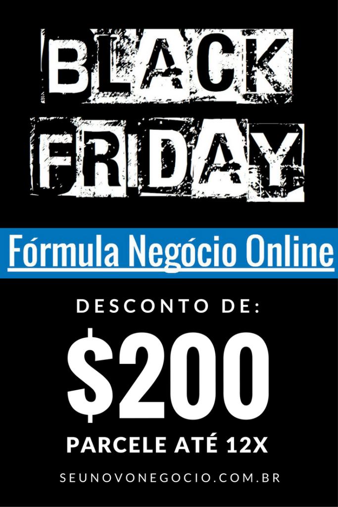 Black Friday no Marketing Digital - Fórmula Negócio Online