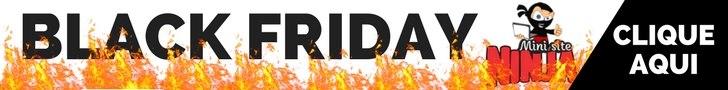 Black Friday no Marketing Digital - Mini Site Ninja