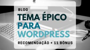 Tema Épico para WordPress